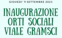 Inaugurazione Orti sociali Viale Gramsci
