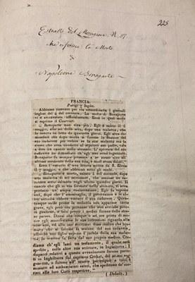 Lettera morte Napoleone