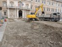 Piazza Roma cantiere 29 gennaio 2015