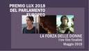 Premio Lux 2018 del Parlamento europeo