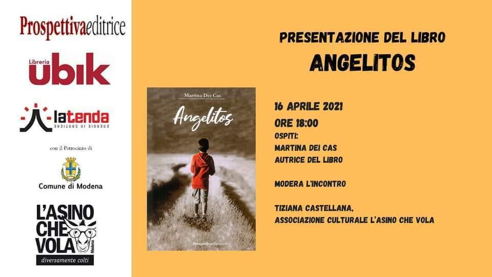 "Presentazione del Libro ""Angelitos"""