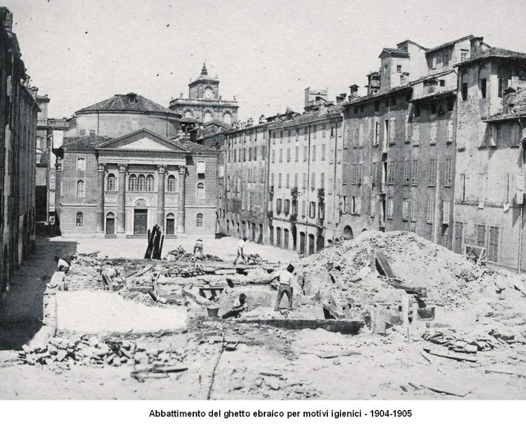 Abbattimento ghetto 1904