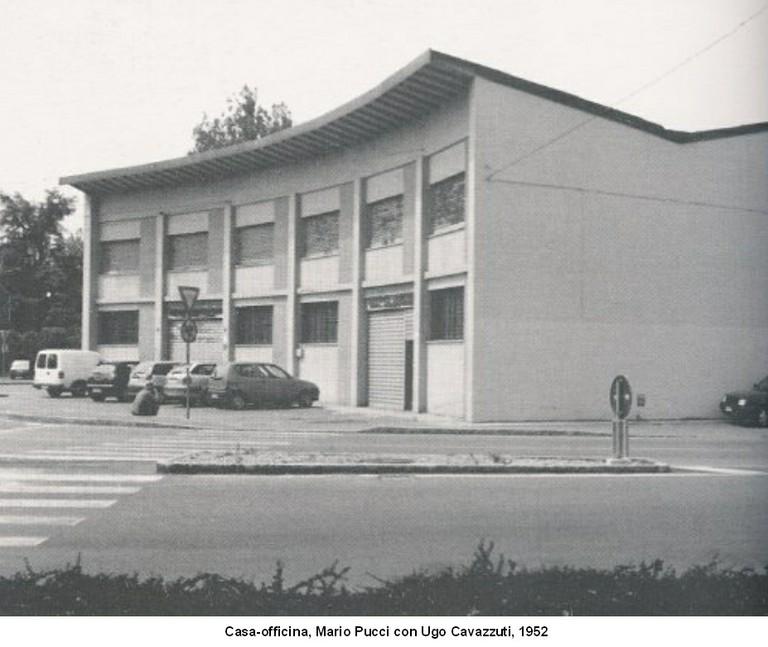 Casa-officina 1952
