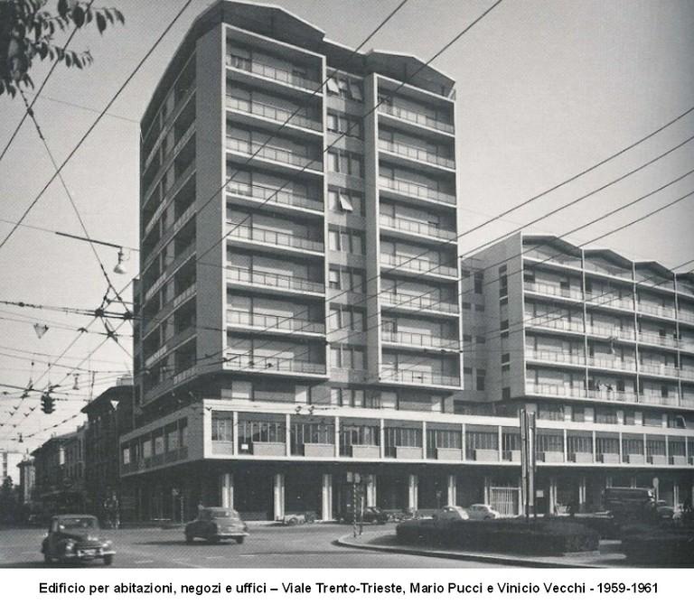 Edificio per abitazioni negozi uffici 1961