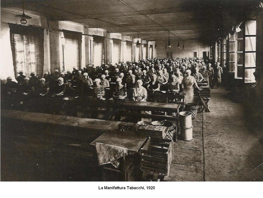 Manifattura Tabacchi 1920