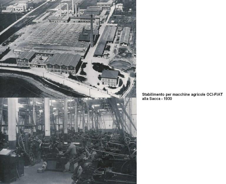 OCI-FIAT alla Sacca 1930