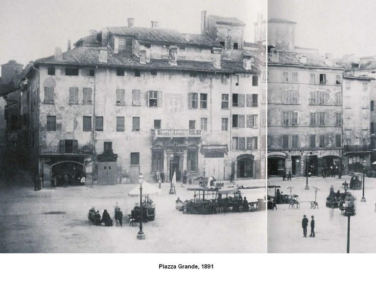 Piazza Grande 1891