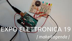 Gennaio ci porta ExpoEletttronica: vieni a trovarci!