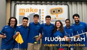 Il progetto Fluosat in finale alla CanSat Competition