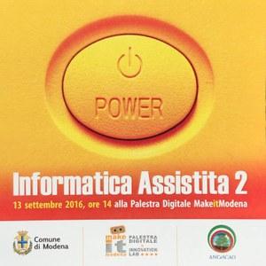 #MakeitCorsi: Informatica Assistita per poco esperti