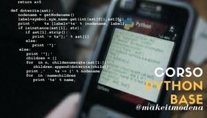 #MakeitCorsi: Python base per principianti