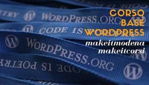 #MakeitCorsi: wordpress per cominciare!
