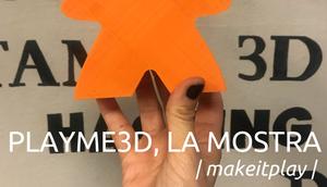 PlayMe 3D, la nostra mostra per il Festival del Gioco 2018
