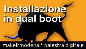 Makeit OS: tutorial dual boot