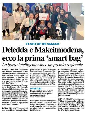 smart bag gazzetta maggio 2019