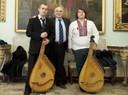 I musicisti ucraini ricevuti in Municipio