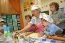 Un'iniziativa con nonni e bambini