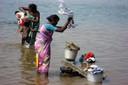 Lavandaie al fiume - Tamil Nadu - India del Sud - Miriam Bergonzini.jpg