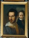 Adeodato Malatesta, Ritratto di Ciro Menotti e Abramo Rimini (olio su tela)