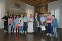 I ragazzi dell'associazione turca Milad in visita dal sindaco Pighi