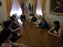 La delegazione cinese ricevuta in Municipio (2)