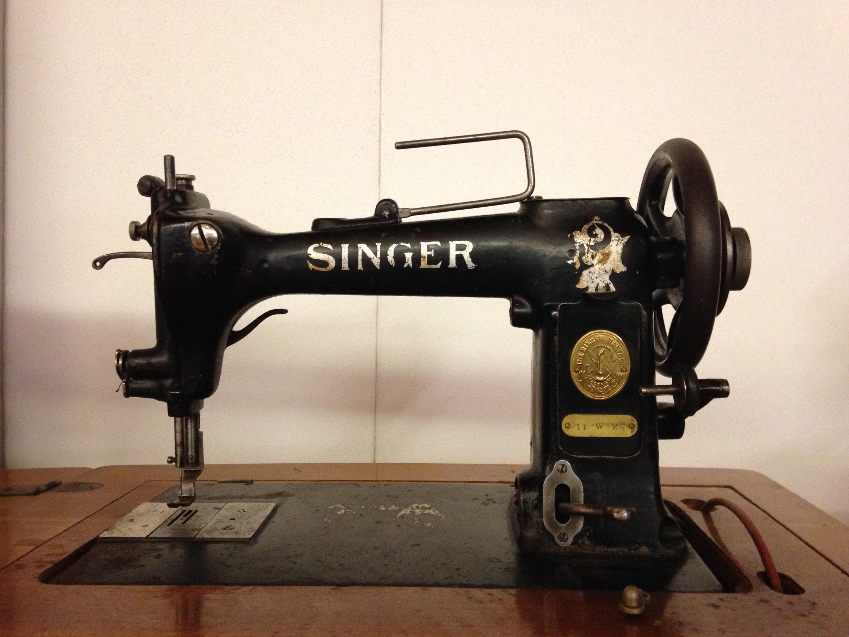 Antica macchina da cucire for Macchine da cucire usate