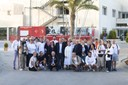 foto di gruppo con assessore Prampolini al Caritas Baby Hospital di Betlemme.JPG