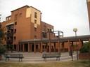 città e architetture Quartiere Torrenova La piazza centrale (via Nonantolana).JPG