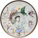 Un piatto in ceramica in mostra al Museo