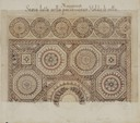 Acquerello del mosaico realizzato da Giuseppe Graziosi nel 1897.