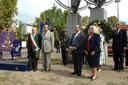Da sinistra: il sindaco Giorgio Pighi, il presidente della Provincia Emilio Sabattini,  il prefetto Michele di Bari e il console Usa Sarah Morrison