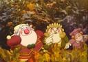 6 – La Famiglia Pavironica versione cartoon vista da Secondo Bignardi © Studio Bignardi, 1977
