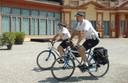 vigili in bici giardini ducali.jpg