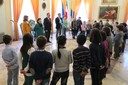 20.11.2014 Sindaco e assessore Cavazza incontrano i bimbi