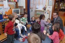 Assessore Cavazza alla scuola d'infanzia Toniolo