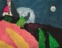 """Una delle opere della mostra """"Colori ed emozioni"""""""