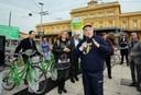 Inaugurazione del servizio di bike sharing