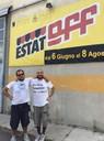 Filippo Stanzani (presidente Stoff) e Valerio Giglioli (direttore artistico EstatOff)
