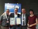 Premio Smart City Road Show al Comune di Modena 4.06.2014