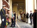La cerimonia in memoria di Del Monte