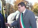 Il sindaco Gian Carlo Muzzarelli durante la commemorazione