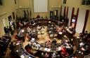 Il Consiglio durante l'intervento di Di Matteo