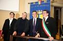 La presidente Maletti, don Ciotti, Di Matteo e il sindaco Muzzarelli