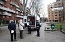 Il nuovo ufficio mobile della Municipale (in piazza Guido Rossa)