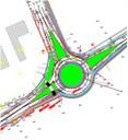 Il progetto della rotatoria tra via Emilia ovest e via Virgilio