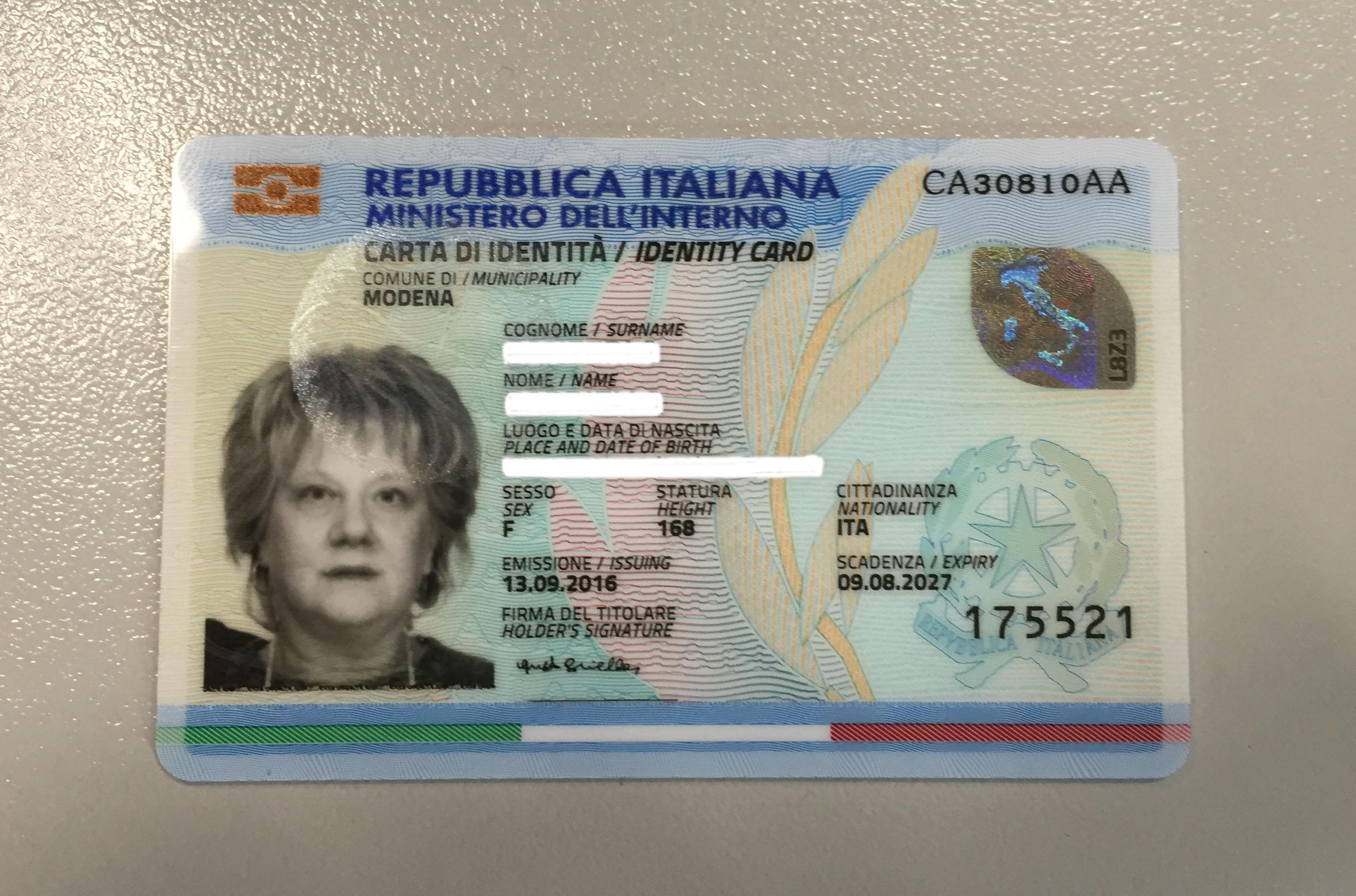 Carta D Identit 192 A Modena 200 In Arrivo Quella Elettronica