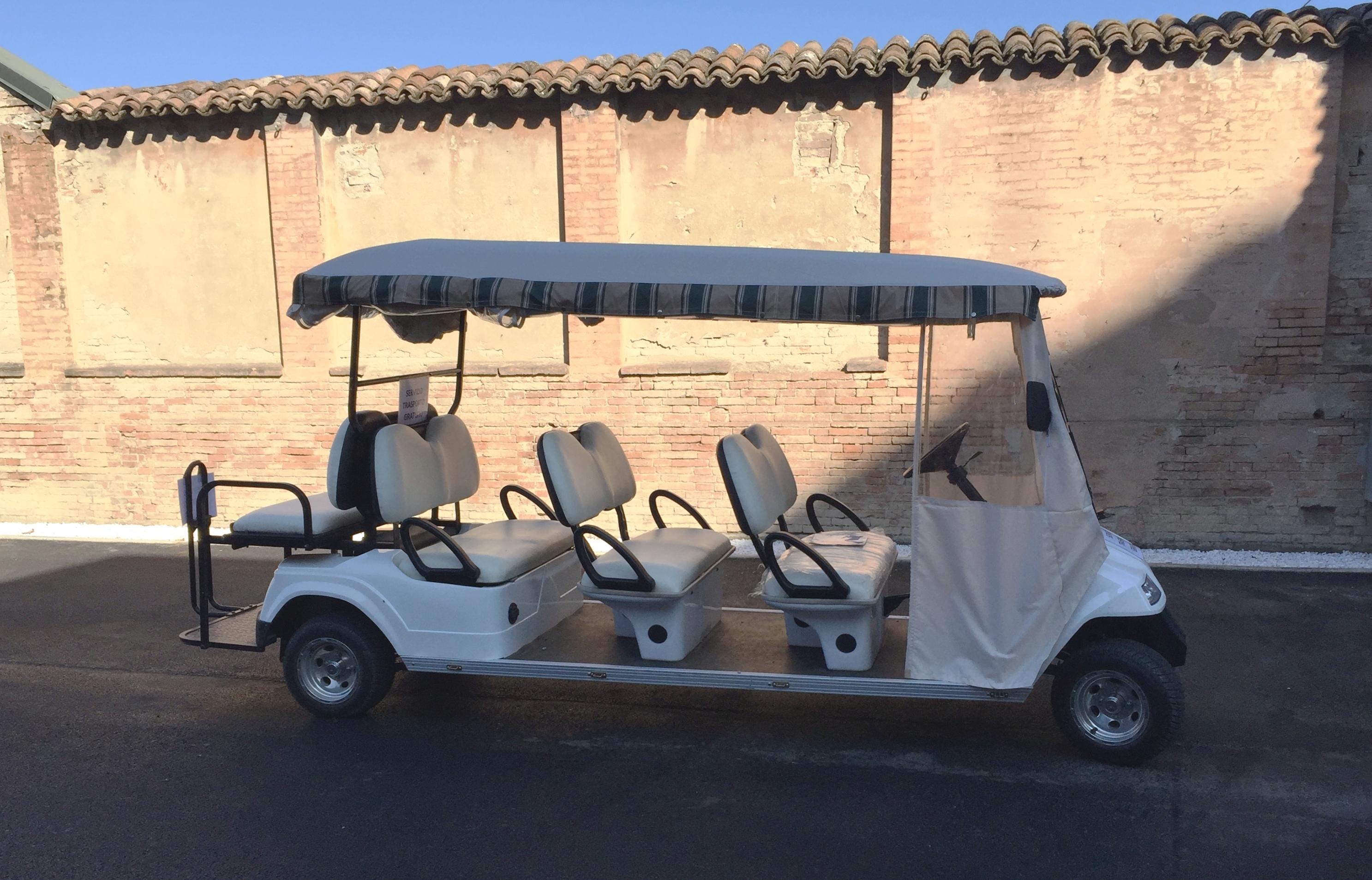 San Cataldo Golf Car 8 Posti Gratuita Per I Visitatori