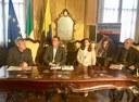 conferenza stampa vedf 2016 da sinistra Fabrizio Grosoli, Gianpietro Cavazza, Anna Lisa Lamazzi, Roberto Roversi.jpg