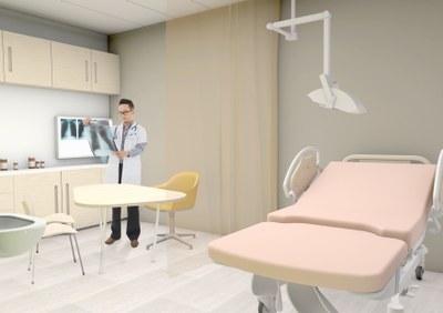 Ufficio Casa Modena : Casa della salute rendering ambulatorio u sito ufficio stampa