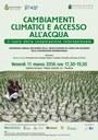 Cambiamenti climatici e accesso all'acqua
